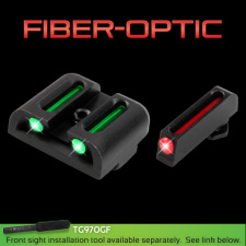TRUGLO GLOCK FIBER OPTIC SIGHTS
