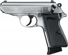 WALTHER PPK/S .22 L.R. NICKEL