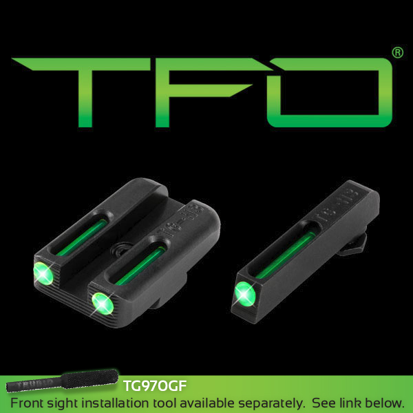 TRUGLO TRITIUM FIBER-OPTIC GLOCK 42/43