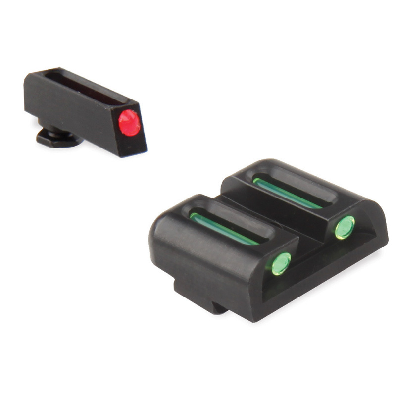 TRUGLO FIBER-OPTIC GLOCK LOW SET